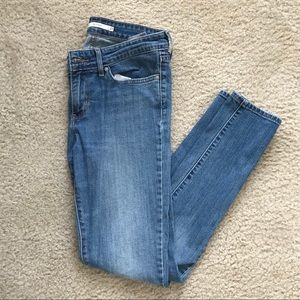 Levis 711 Skinny Jeans, size 27
